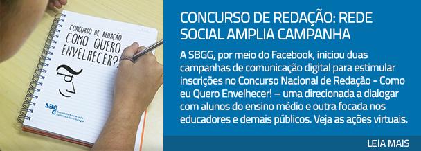 Concurso de Redação: rede social amplia campanha