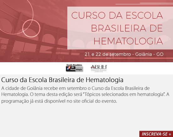 Curso da Escola Brasileira de Hematologia