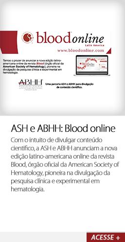 ASH e ABHH: Blood online