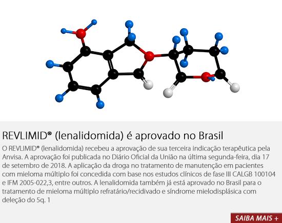 REVLIMID® (lenalidomida) é aprovado no Brasil